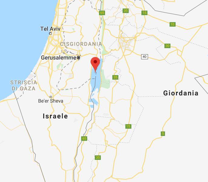 Cartina Israele Giordania.Mar Morto Pronto A Galleggiare Accesso Dalla Giordania