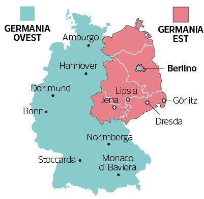 Germania Est Cartina.Muro Di Berlino 10 Fatti Curiosi E 5 Fughe Geniali Che Viaggi Ti Fai